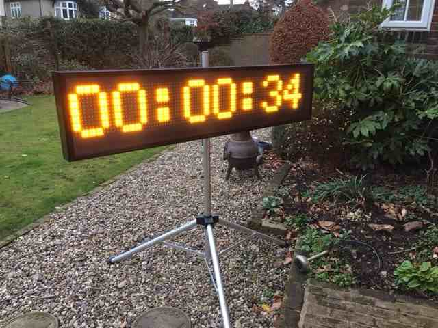 Race Clock for Hire